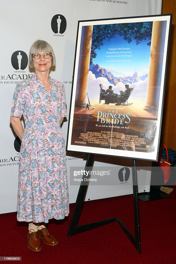 Lois Burwell attends the Academy Of Motion Picture Arts And Sciences' Presents 'The Princess Bride' With Live Commentary Onstage at AMPAS Samuel Goldwyn Theater on August 15, 2013 in Beverly Hills, California.