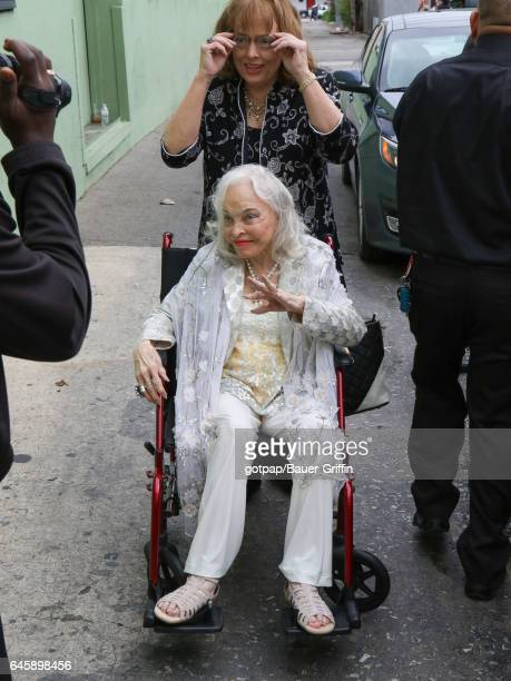 Lois Driggs Cannon is seen on February 26 2017 in Los Angeles California
