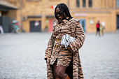 Street Style - 	Mercedes-Benz Fashion Week Berlin...