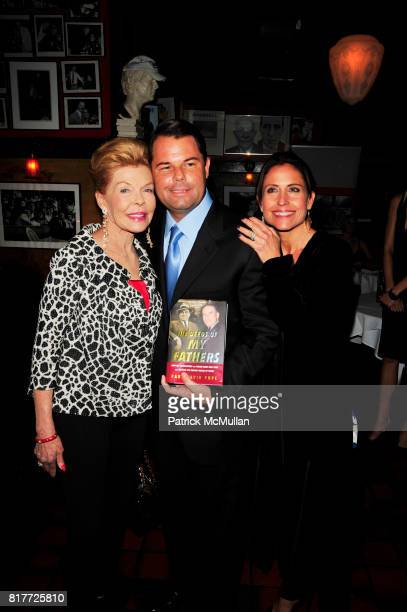 Lois Pope Paul David Pope and Maria Pope Kessel attend THE DEEDS OF MY FATHERS by Paul David Pope New York book launch at Elaine's on October 6th...