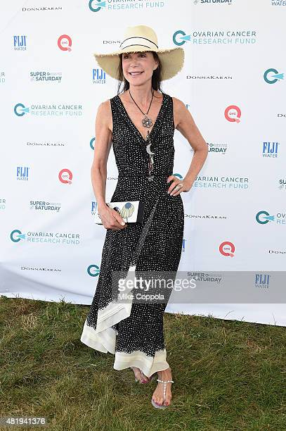 Lois Robbins attends OCRF's 18th Annual Super Saturday NY Hosted by Donna Karan and Kelly Ripa on July 25 2015 in Water Mill City