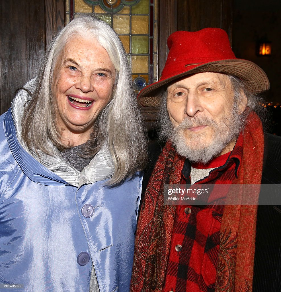 Lois Smith and David Margulies attend the opening night after party for the Playwrights Horizons New York premiere production of 'Marjorie Prime' at...