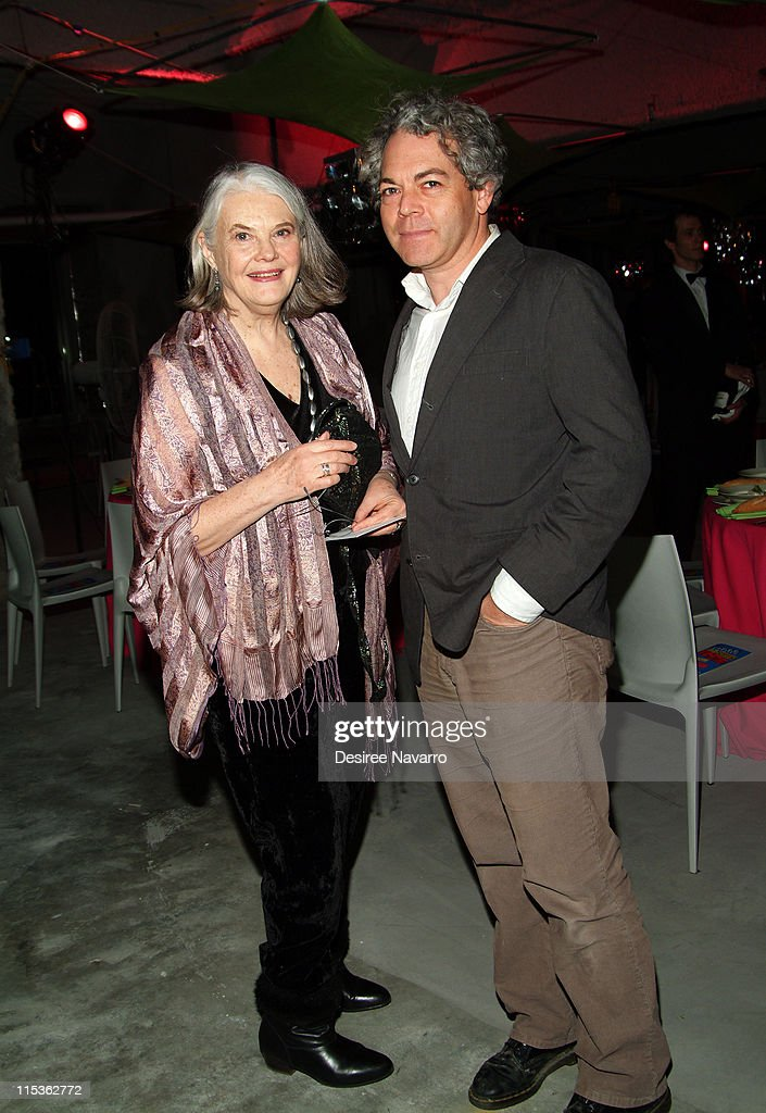 Lois Smith and Michael Almereyda during BAM 2005 Spring Gala Celebrating Matthew Bourne's Play 'Without Words' at BAM Harvey Theater in Brooklyn New...