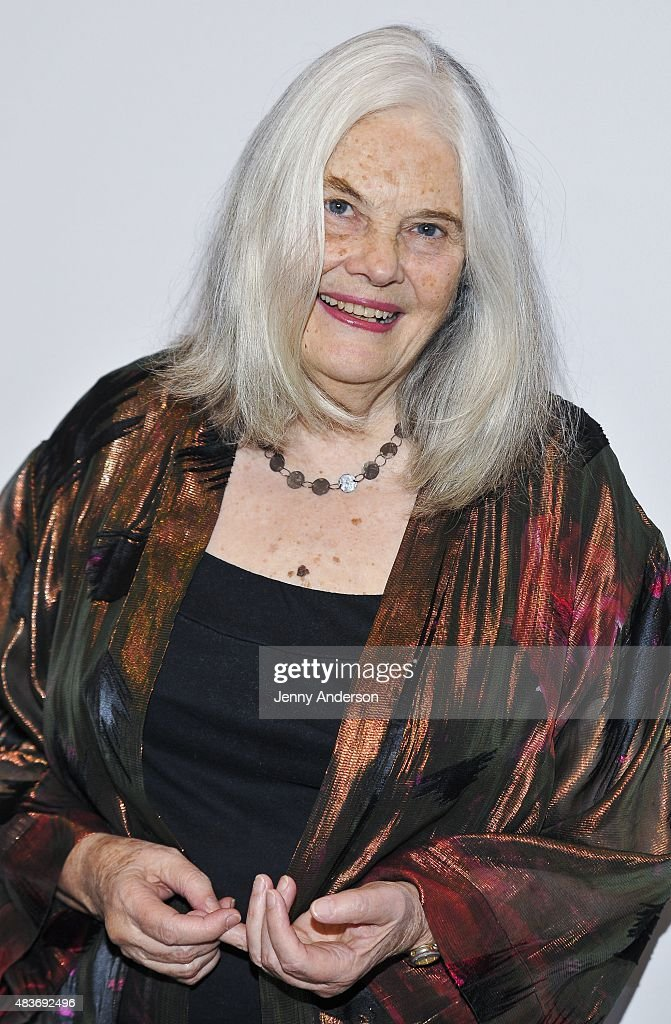Lois Smith attends 'John' opening night party at Pershing Square Signature Center on August 11 2015 in New York City