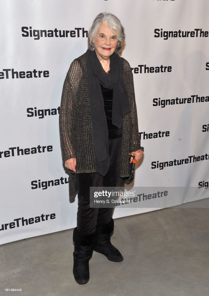 <a gi-track='captionPersonalityLinkClicked' href=/galleries/search?phrase=Lois+Smith+-+Actress&family=editorial&specificpeople=555970 ng-click='$event.stopPropagation()'>Lois Smith</a> attends the 2013 Signature Theatre Gala at The Signature Center on February 11, 2013 in New York City.