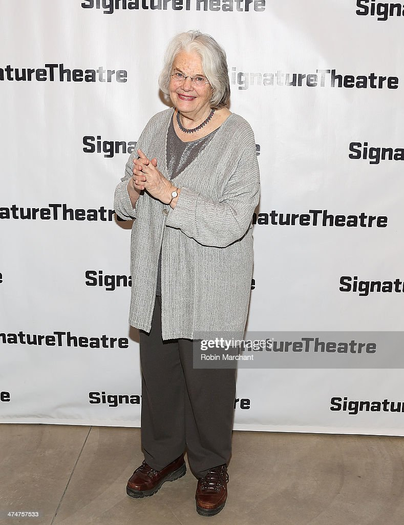Lois Smith attends the 'Kung Fu' opening night party at Signature Theatre Company's The Pershing Square Signature Center on February 24 2014 in New...