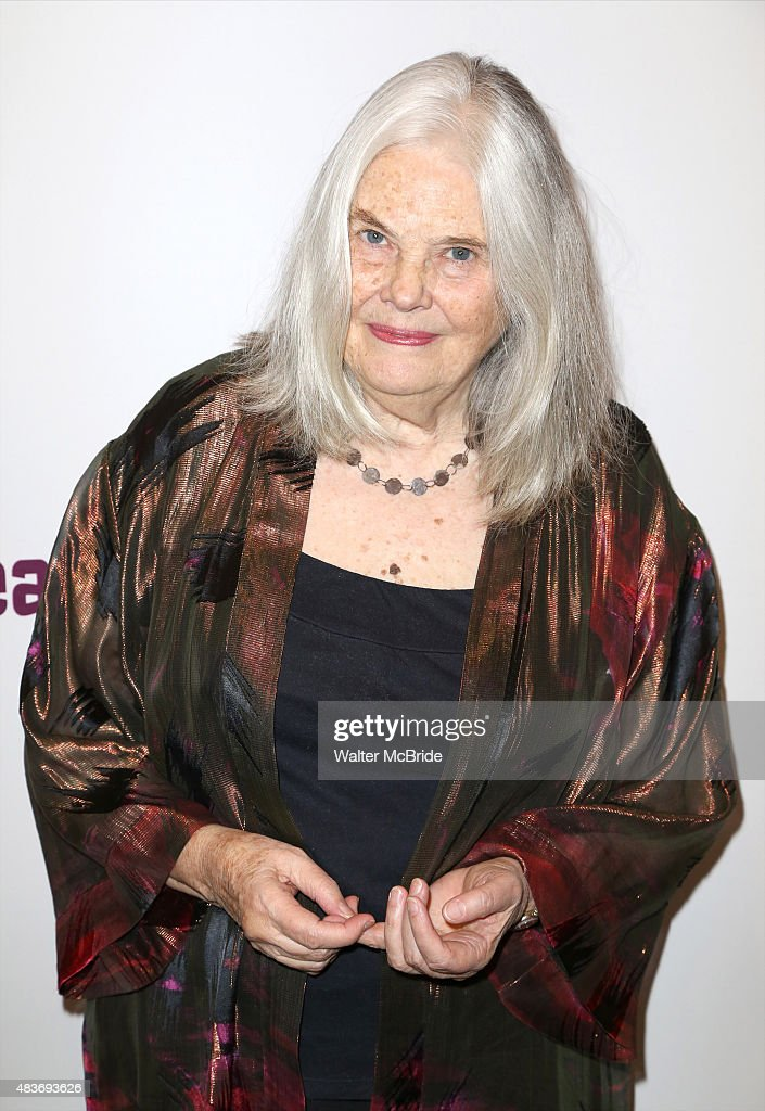 Lois Smith attends the opening night party for 'John' at Signature Theatre Company's Pershing Square Signature Center on August 11 2015 in New York...