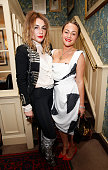 Lois Winstone and Jaime Winstone at Mark's Club for the Vivienne Westwood Autobiography Launch on October 7 2014 in London England