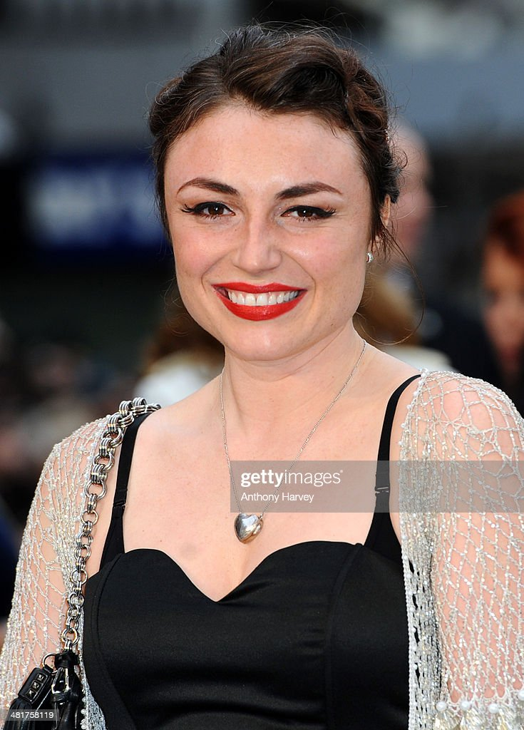 Lois Winstone attends the UK premiere of 'Noah' at Odeon Leicester Square on March 31, 2014 in London, England.