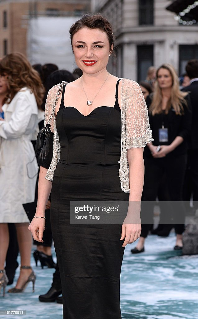 Lois Winstone attends the UK premiere of 'Noah' held at the Odeon Leicester Square on March 31, 2014 in London, England.