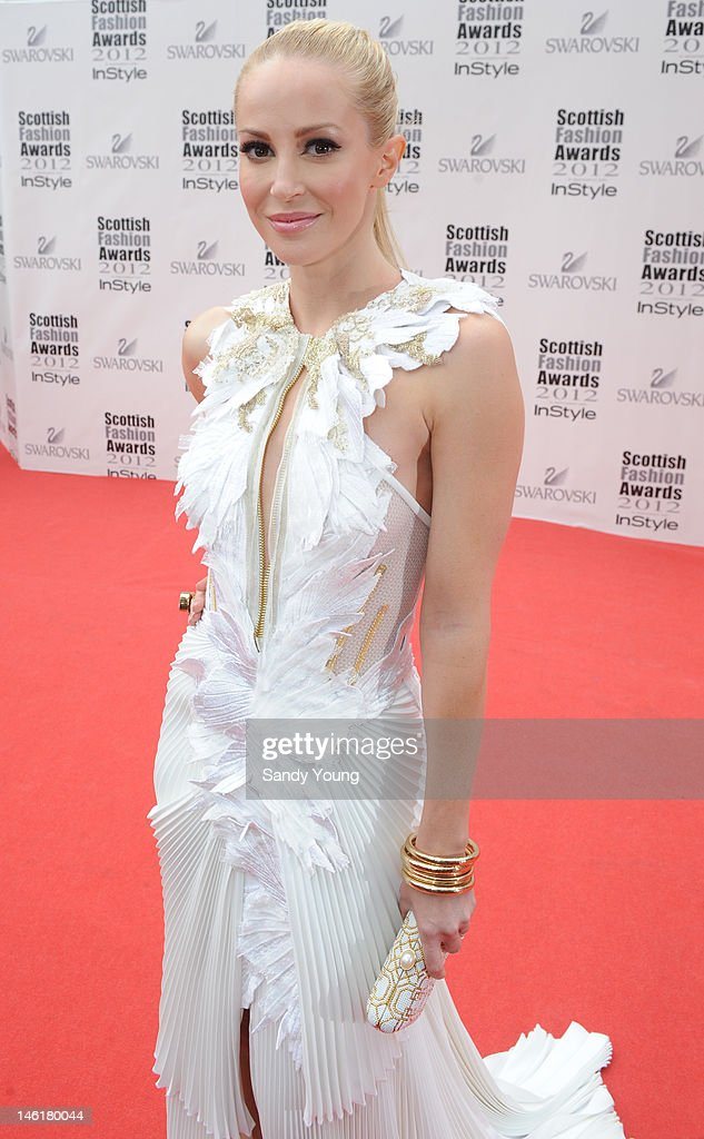 Loise Linton attends Scotland's most high-profile celebration of fashion and style which recognises scottish designers who have made a significant contribution to the industry at The Clyde Auditorium on June 11, 2012 in Glasgow, Scotland.