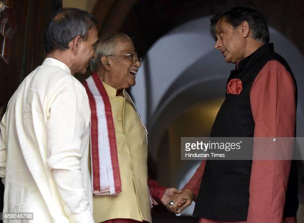 Lok Sabha MP from Baghpat Uttar Pradesh Satyapal Singh Member of Parliament for Kanpur Murli Manohar Joshi Congress Rajya Sabha MP Shashi Tharoor...
