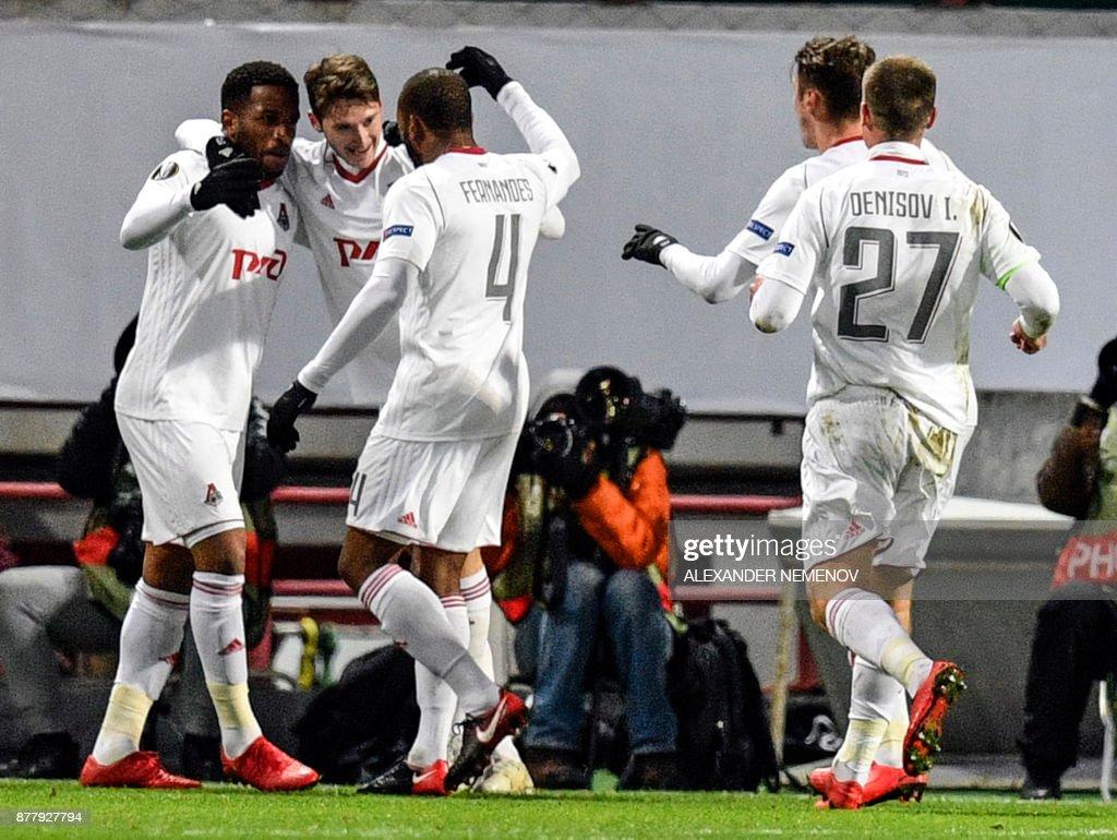 Lokomotiv Moskva v FC Kobenhavn - UEFA Europa League