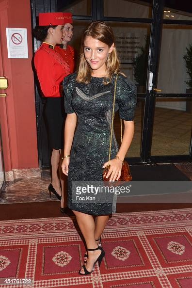 Lola Bessis attends the Opening Dinner Party 40th Deauville American Film Festival at the Casino Lucien Barriere on September 5 2014 in Deauville...