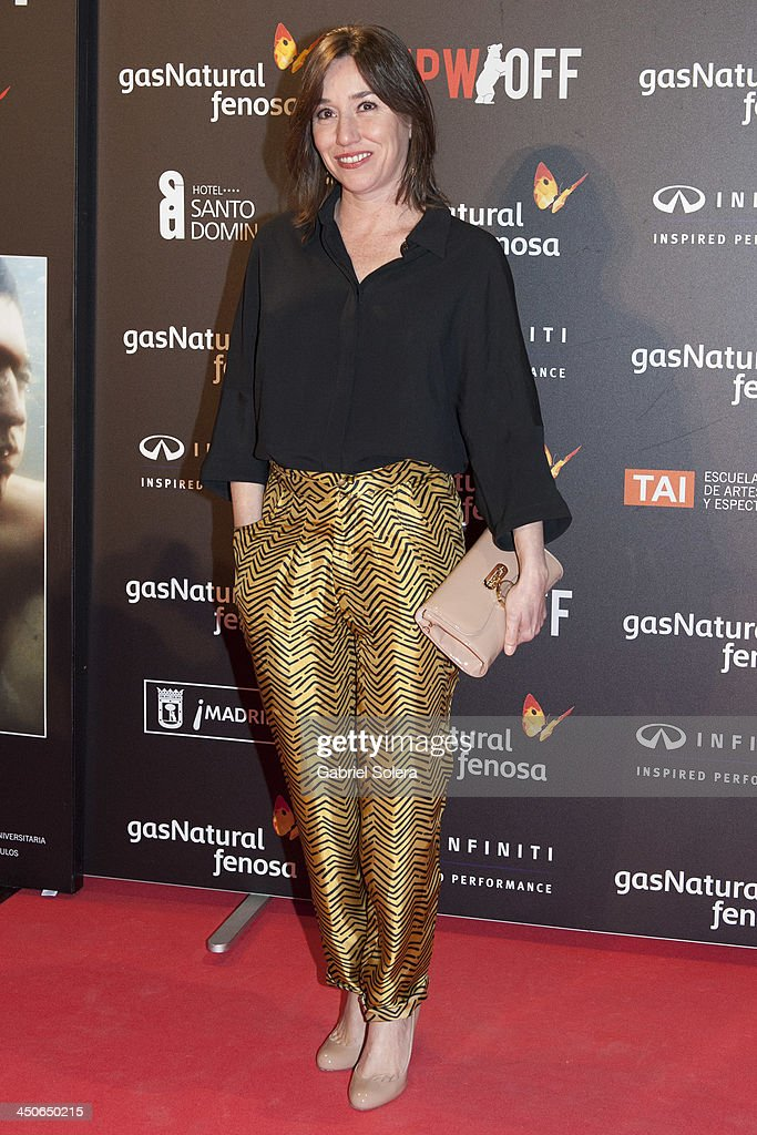 Lola Dueñas attends '10.000 Noches en Ninguna Parte' Madrid Premiere at Callao cinema on November 19, 2013 in Madrid, Spain.