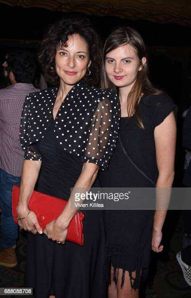 Lola Glaudini and Isabella Glaudini attend CAP UCLA Pomegranate Arts And Ace Hotel Present 'An Evening With Taylor Mac' at the Ace Hotel on May 24...