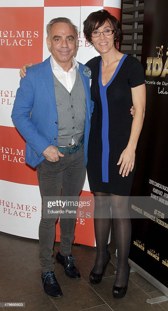 Lola Gonzalez and Joaquin Torres attend 'iDance' opening photocall at Holmes Palace on March 21, 2014 in Madrid, Spain.