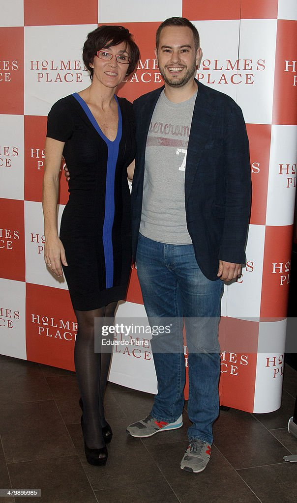 Lola Gonzalez and Jorge Blass attend 'iDance' opening photocall at Holmes Palace on March 21, 2014 in Madrid, Spain.