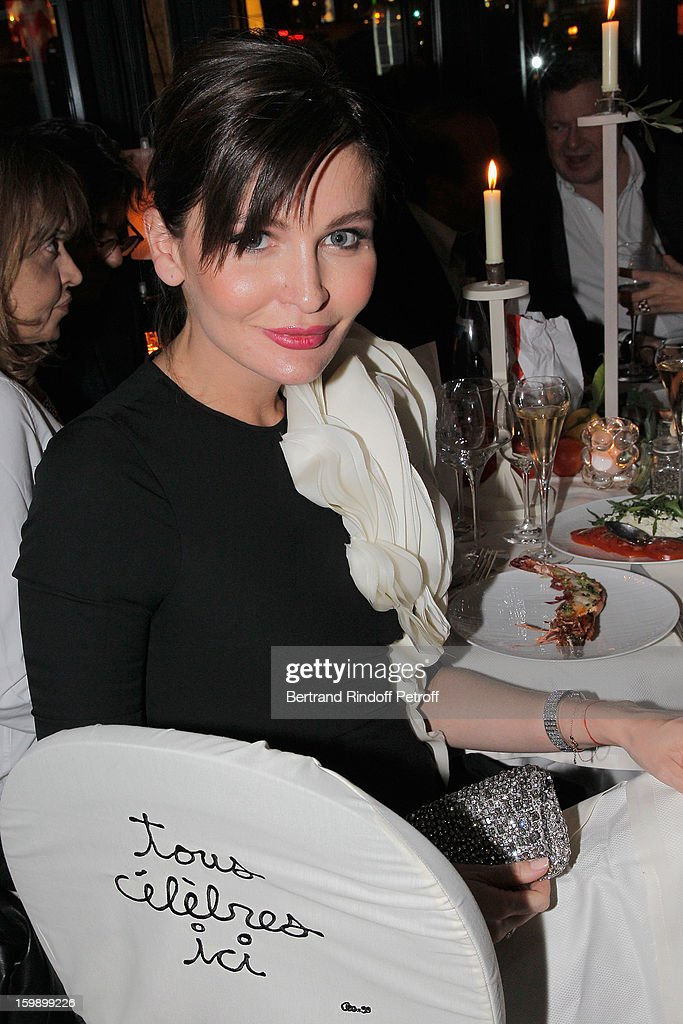Lola Karimova attends 'La Petite Maison De Nicole' Inauguration Cocktail at Hotel Fouquet's Barriere on January 22, 2013 in Paris, France.