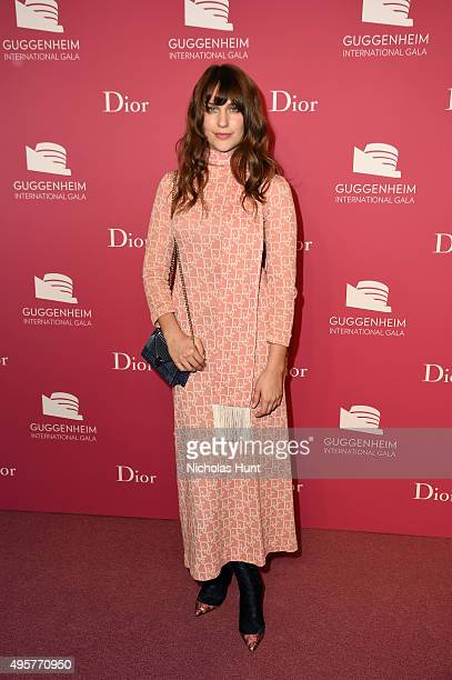 Lola Kirke attends the 2015 Guggenheim International Gala PreParty made possible by Dior at Solomon R Guggenheim Museum on November 4 2015 in New...