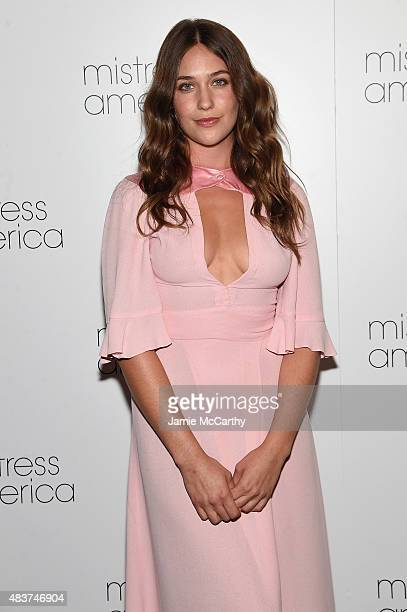 Lola Kirke attends the 'Mistress America' New York Premiere at Landmark Sunshine Cinema on August 12 2015 in New York City