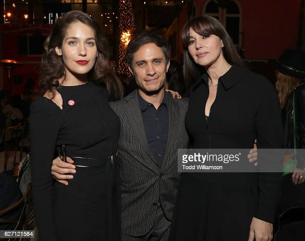 Lola Kirke Gael Garcia Bernal and Monica Bellucci attend the 'Mozart In the Jungle' Red Carpet Premiere and Concert held at The Grove on December 1...
