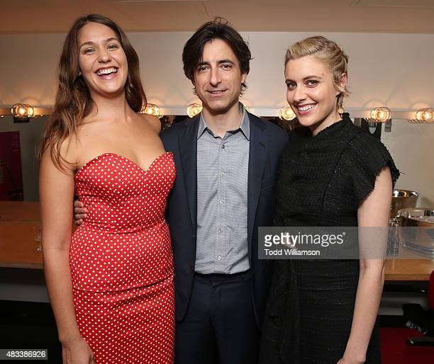Lola Kirke Writer/director Noah Baumbach and Greta Gerwig attend the Los Angeles Premiere of Fox Searchlight's 'Mistress America' at Ace Hotel on...