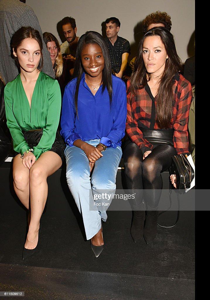 Barbara Bui  : Front Row  - Paris Fashion Week Womenswear Spring/Summer 2017