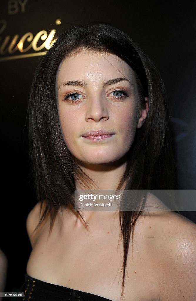 Lola Lennox attend the 500 by Gucci launch party during the Milan fashion week womenswear Autumn/Winter 2011 on February 23, 2011 in Milan, Italy.