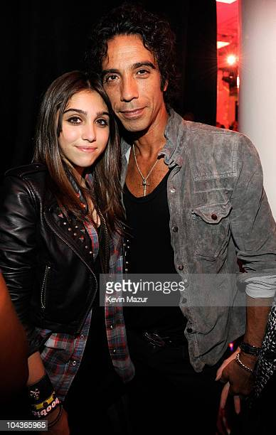 Lola Leon and Carlos Leon attend the launch of 'Material Girl' at Macy's Herald Square on September 22 2010 in New York City