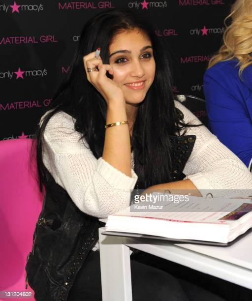 Lola Leon attends Material Girl 'Lucky Stars' model search at Macy's Herald Square on November 2 2011 in New York City