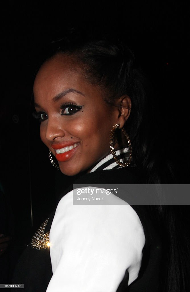 LoLa Monroe attends Wiz Khalifa's 'O.N.I.F.C.' Listening Party at The West Way on November 26, 2012 in New York City.
