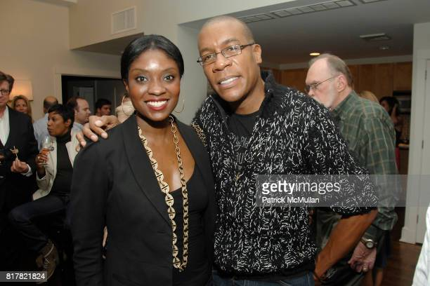 Lola Ogunnaike and Patrick Riley attend OLDMAN'S BRAVE NEW WORLD OF WINE Book Launch Hosted by W W Norton and Mark Oldman at Residence of Mark Oldman...