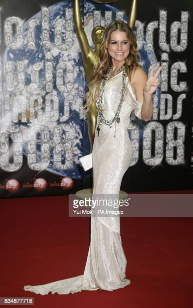 Lola Ponce arriving at the 2008 World Music Awards at the Sporting Club Monte Carlo