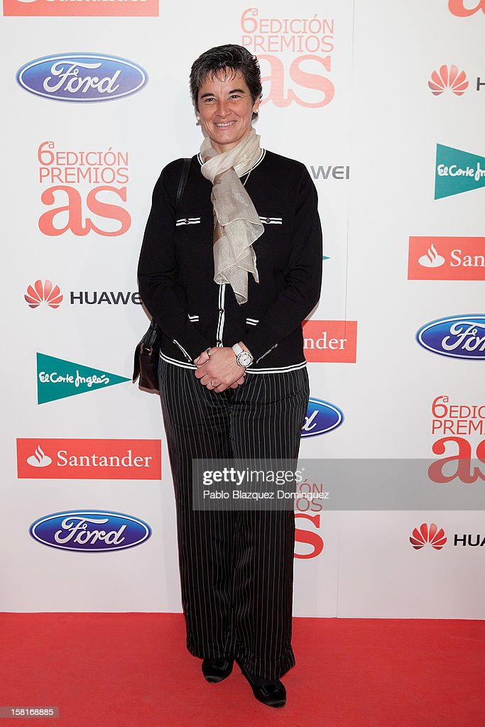 Lola Romero attends 'As Del Deporte' Awards 2012 at The Westin Palace Hotel on December 10, 2012 in Madrid, Spain.