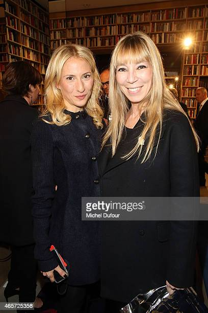Lola Rykiel and Victoire de Castellane attend the Sonia Rykiel show as part of the Paris Fashion Week Womenswear Fall/Winter 2015/2016 on March 9...