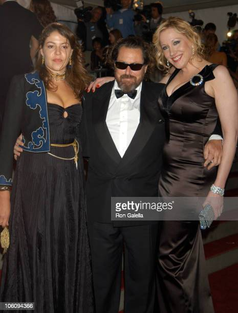 Lola Schnabel Julian Schnabel and Amy Sacco during 'AngloMania' Costume Institute Gala at The Metropolitan Museum of Art Arrivals Celebrating...