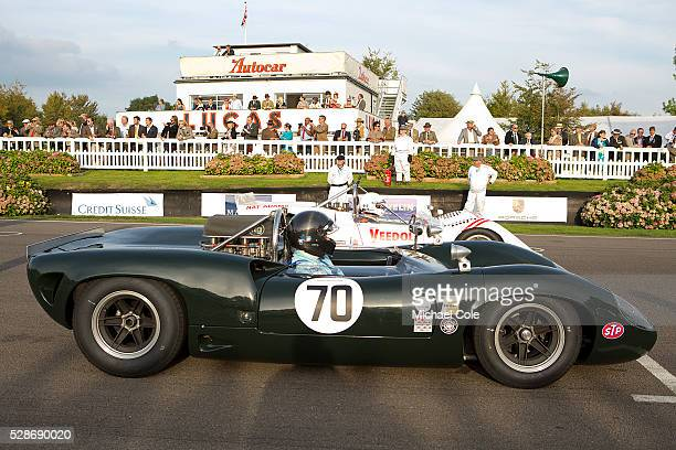LolaChevrolet T70 Spyder Whitsun trophy at The Goodwood Revival Meeting 13th Sept 2014
