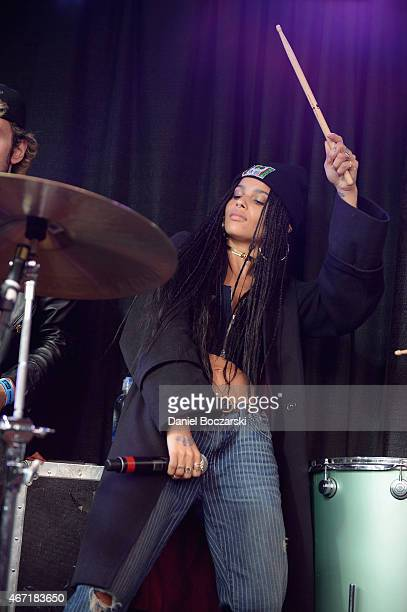 Lolawolf performs at the AXE White Label Collective Party powered by SPIN at SXSW on March 21 2015 in Austin Texas