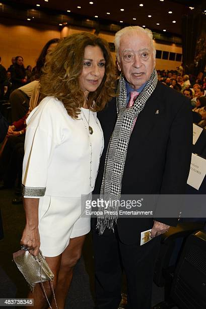Lolita Flores and Tico Medina attend '2014 Cofrades Awards' on April 9 2014 in Marbella Spain