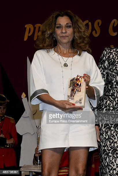 Lolita Flores attends '2014 Cofrades Awards' on April 9 2014 in Marbella Spain