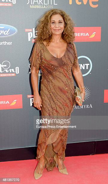 Lolita Flores attends Platino Awards Gala on July 18 2015 in Marbella Spain