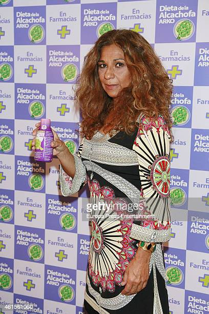 Lolita Flores presents 'Artichoke' Diet on January 14 2015 in Madrid Spain