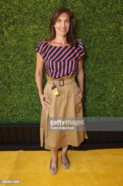 Lollipop Theater Network Executive Director Evelyn Iocolano attends the Premiere Of Universal Pictures And Illumination Entertainment's 'Despicable...