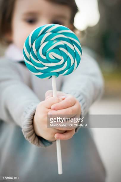 lolly pop in the hands