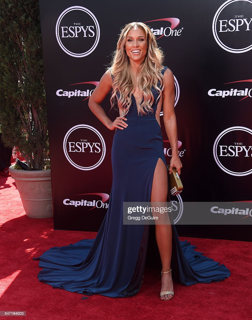 Lolo Jones arrives at The 2016 ESPYS at Microsoft Theater on July 13, 2016 in Los Angeles, California.