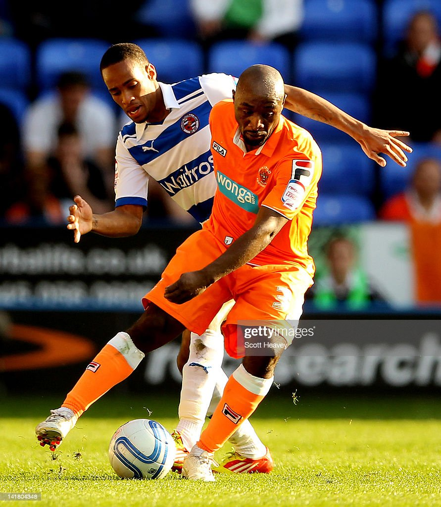 Reading v Blackpool - npower Championship