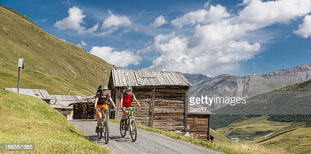 Lombardian alpine pasture mountainbiking