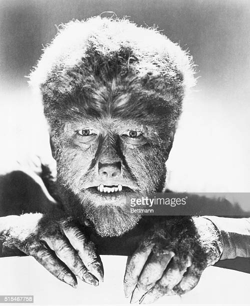 Lon Chaney as a werewolf Undated movie still