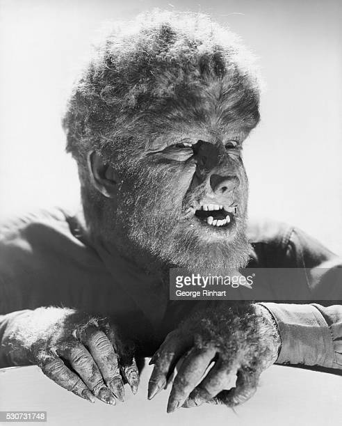 Lon Chaney Jr as the Wolfman from the movieThe Wolfman